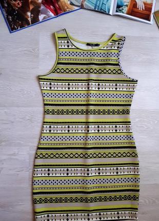 Яркое платье incity