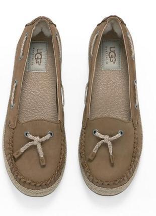 Новые мокасины ugg оригинал р. 36 голограмма туфли