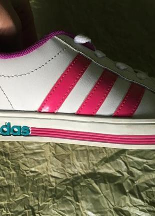 Кроссовки-кеды adidas р-р.34 стелька 21 см