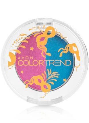 В подарок к покупке от 199 грн. двойные тени для век color trend