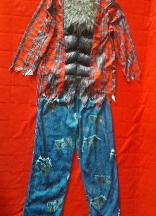 Продажа 7-8 лет  костюм оборотня с мышцами костюм волка