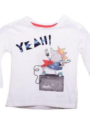 Новая футболка с длинными рукавами и рисунком, zara, 6224