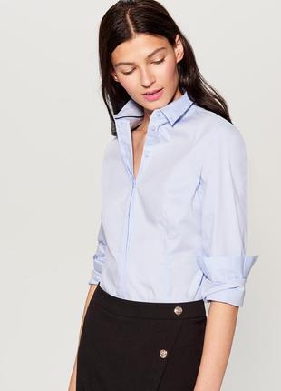 Рубашка классическая офисная mohito бирки