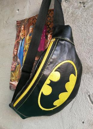"Бананка ручной работы ""бэтмен"""