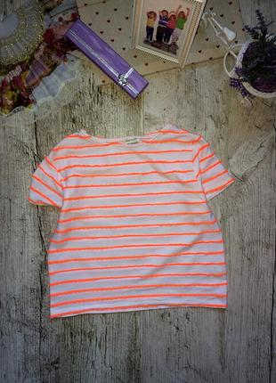 Очень яркая футболка-топ river island, 9-10 лет