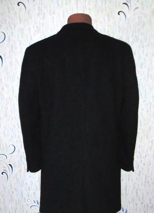 Шерстяное мужское пальто от commander размер: 56-xxl, 3xl2 фото