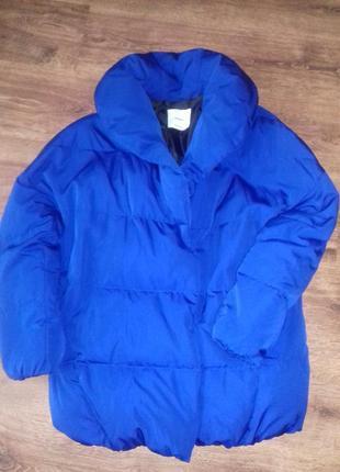 Женская курточка -пуховик размер s пух-перо