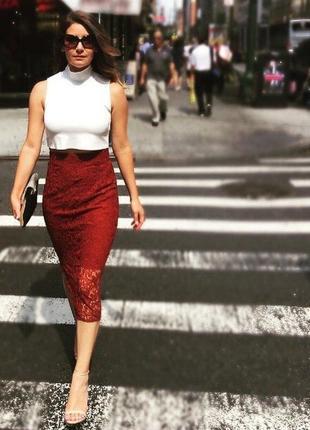 Невероятная миди юбка rare london