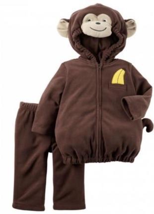 """Костюм на хэллоуин и новый год для малышки """"симпатичная обезьянка"""""""