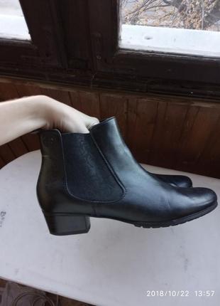 Шкіряні черевики челсі gerry weber, знижка!!