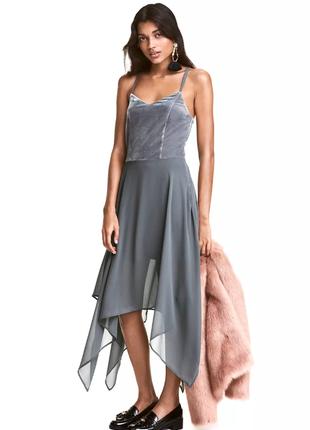 Вечернее платье h&m.