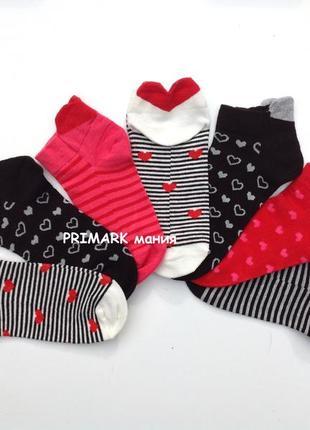 Женские низкие носки primark
