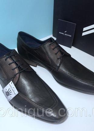 Мужские туфли daniel hechter. размер 44 eu (29 см)