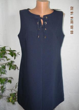 Осеннее новое платье f&f