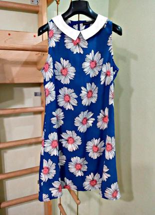 Легкое платье с воротничком 10