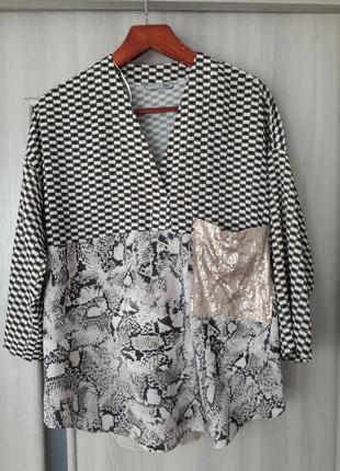 Кофта блуза zara