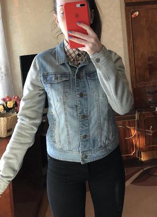 Джинсовый пиджак джинсовая куртка