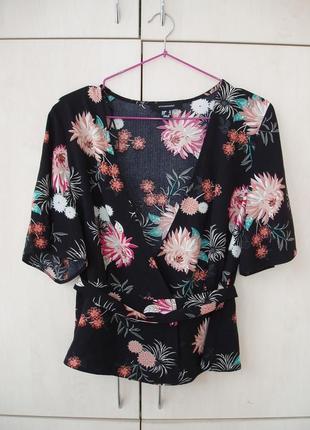 Блуза-топ на запах