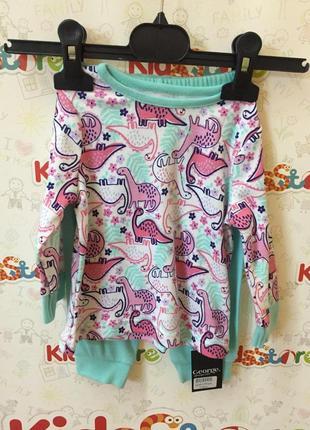 Новая бирюзовая пижама для девочки, george, 584111