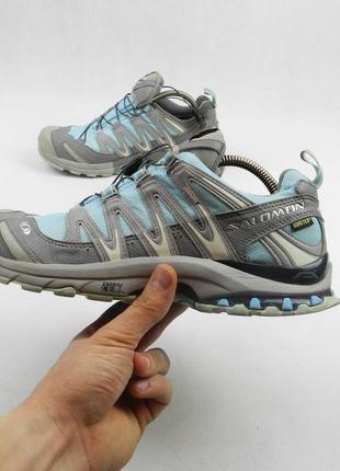 Кроссовки ботинки трекинговые  salomon gore tex