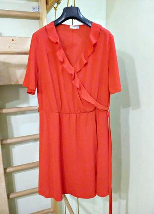Красивое легкое платье с воланами 18