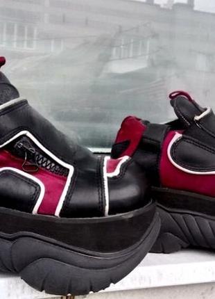 Ботинки на платформе buffalo demonia