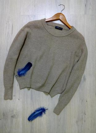 Укороченная кофта / вязаный свитер