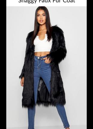 Меховое пальто boohoo! london