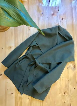 Женское кашемировое пальто холли хаки