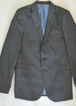 Стильный пиджак в клетку для мальчика autograph піджак для хлопчика в клітинку