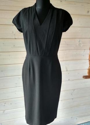 Фирменное, базовое, шерстяное платье миди, супер качество!!! оригинал!