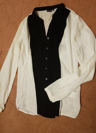 Блуза под шелк