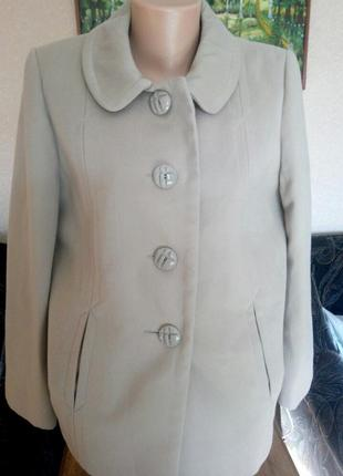 Bm пальто демисезон цвет карамелька р 16