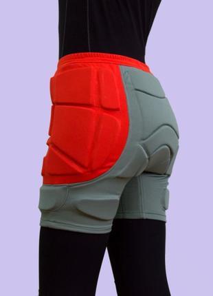 Защитные шорты padded shorts для сноуборда, лыж