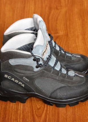 Трекінгові черевики (треккинговые ботинки) scarpa zg gtx