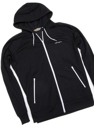 Спортивная кофта carhartt hooded gym jacket. размер xxl