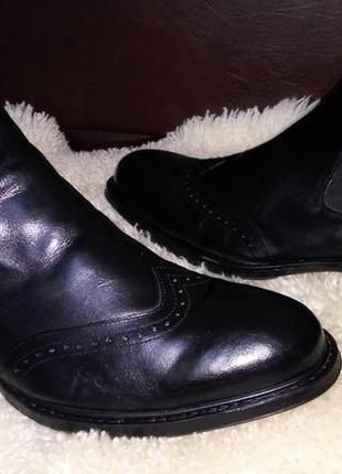 Bata ботинки кожа броги челси 44 р по ст 30.5 см в хорошем состояние