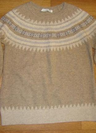 Теплый свитер yessica