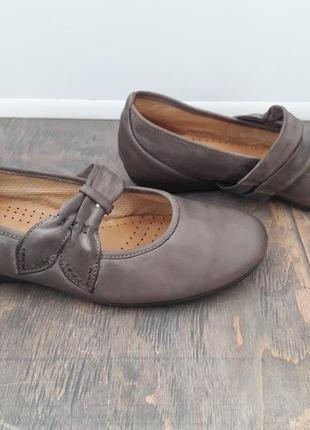 Туфли балетки gabor 38 р, 25 см