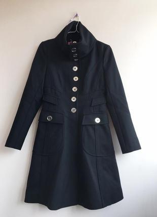 Брендовое пальто, 100% шерсть