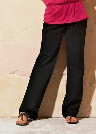 Льняные брюки-капри  2в1 tcm tchibo. германия. tcm tchibo