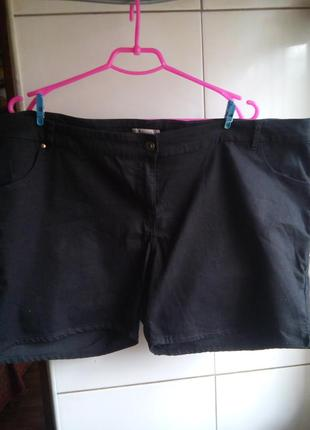 Шорты джинсовые большой размер.