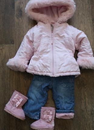 Теплая и нежная демисезонная куртка