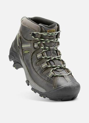 Треккинговые ботинки keen targhee ii waterproof mid, 37.5 размер