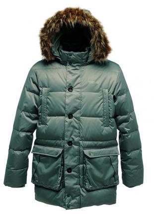 Мужская зимняя пуховая куртка парка regatta оригинал