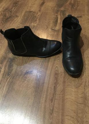 Ботинки челси из натуральной кожи
