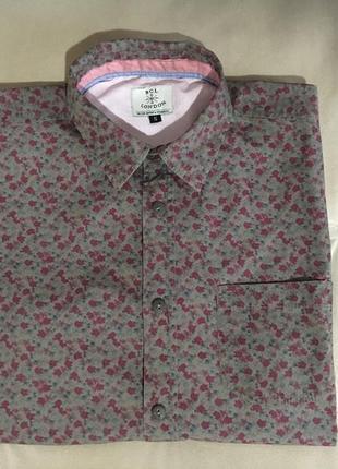 Рубашка с коротким рукавом bgl, размер s.