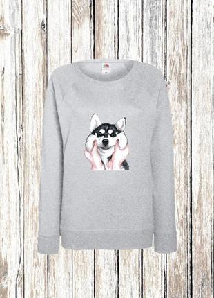 Жіночий світшот, кофта, светр (свитшот, свитер)