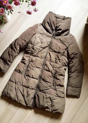 Пальто зимнее фирменное zara