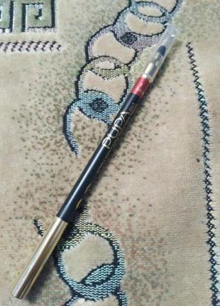 Карандаш pupa для глаз и губ с растушёвкой
